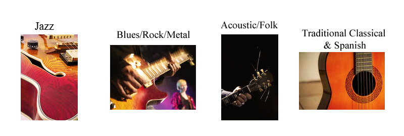 Guitar Styles Taught