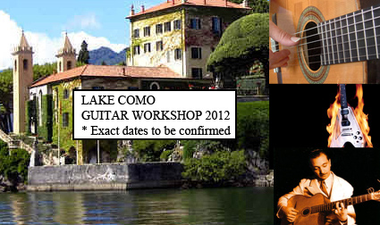Lake Como Guitar Workshop