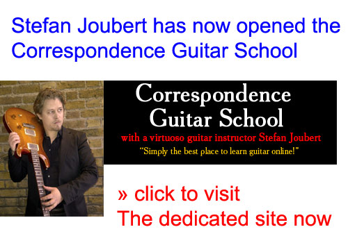 Correspondence Guitar Lessons