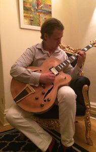 Stefan Joubert Manager of the London Guitar Institute