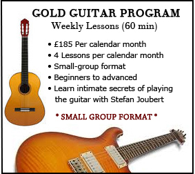 Gold Guitar Program