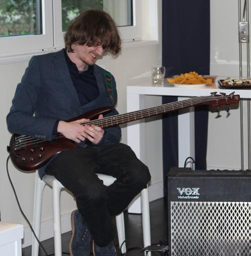 Bass Guitar Student Dan