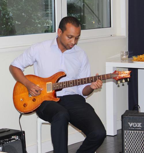 Guitar Student Abraham