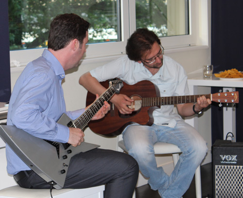 Guitar Students Ross and Denis Performing