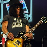 Rock guitarist Slash