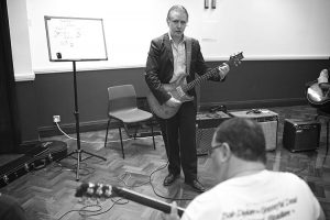 Stefan Joubert Teaching Guitar