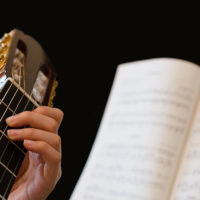 Beginner classical guitar player
