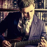 Intermediate rock guitarist