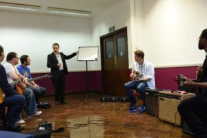 Stefan Joubert teaching improvisation
