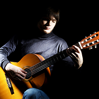 Advanced classical guitarist
