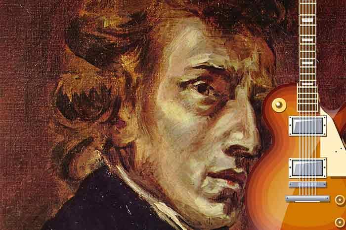 Chopin and guitar