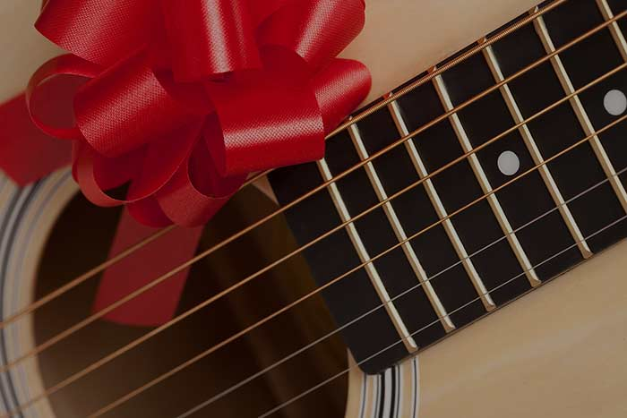 Guitar lessons gift