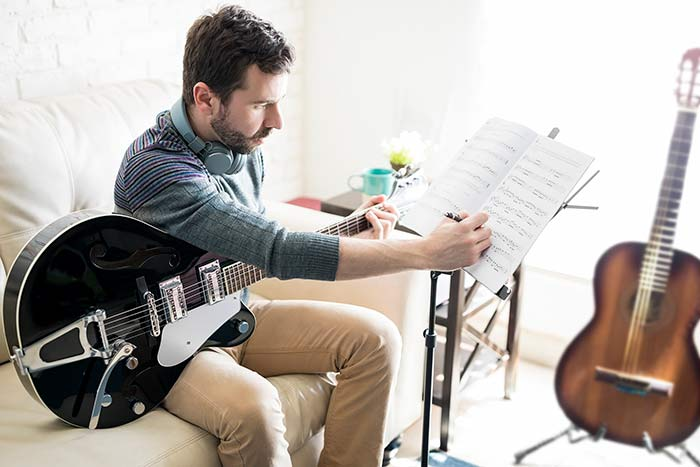 Staying motivated when practicing guitar