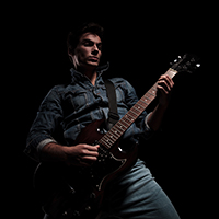 Advanced rock guitarist