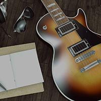 Blues guitar lesson preparation